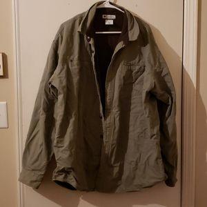 Columbia Olive Green Mens Jacket XL